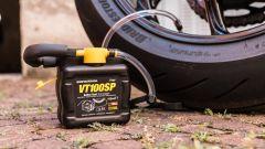 Kit ripara gomme per moto Gonfia e Ripara VT100