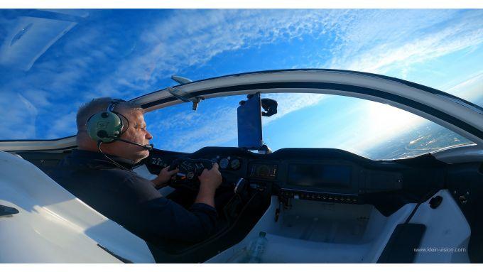 Klein Vision AirCar, vista onbard