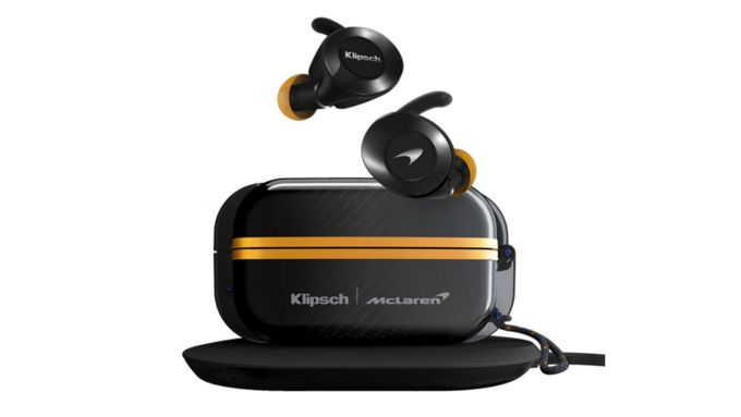 Klipsch T5 True Wireless Sport McLaren: auricolari e custodia