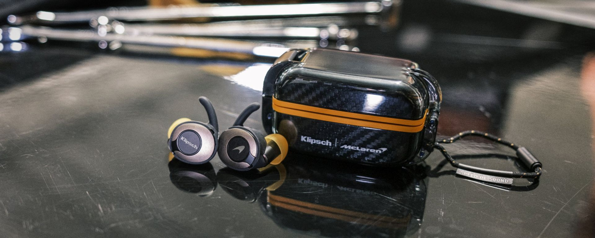 Klipsch T5 True Wireless Sport McLaren: auricolari in edizione limitata