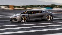 Koenigsegg Gemera: impegnata in pista