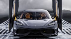 Koenigsegg Gemera: l'anteriore