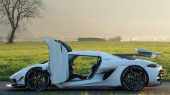 Christian Koenigsegg al volante della nuova Jesko