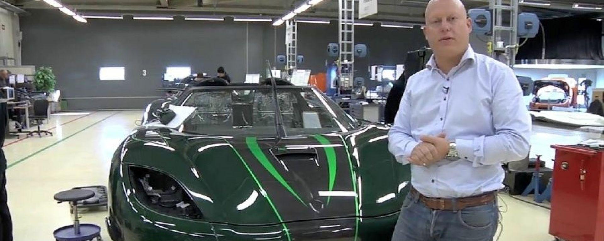 Come si inizia a costruire supercar? Koenigsegg ve lo spiega
