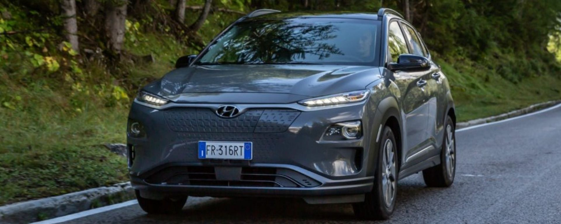 Hyundai Kona Electric: nuovi dati sull'autonomia secondo WLTP