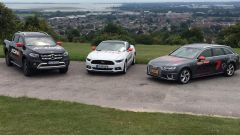 KONI Active Experience Tour con Mercedes Classe X, Ford Mustang e Audi A4 Avant