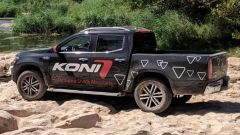 Koni con pickup Mercedes Classe X