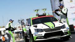 Kopecky sul podio del Rally di Sardegna  - WRC 2 2017, Rally Italia Sardegna