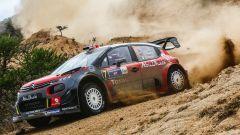 Kris Meeke e la sua Citroen C3 WRC Plus - WRC 2017, Rally Messico