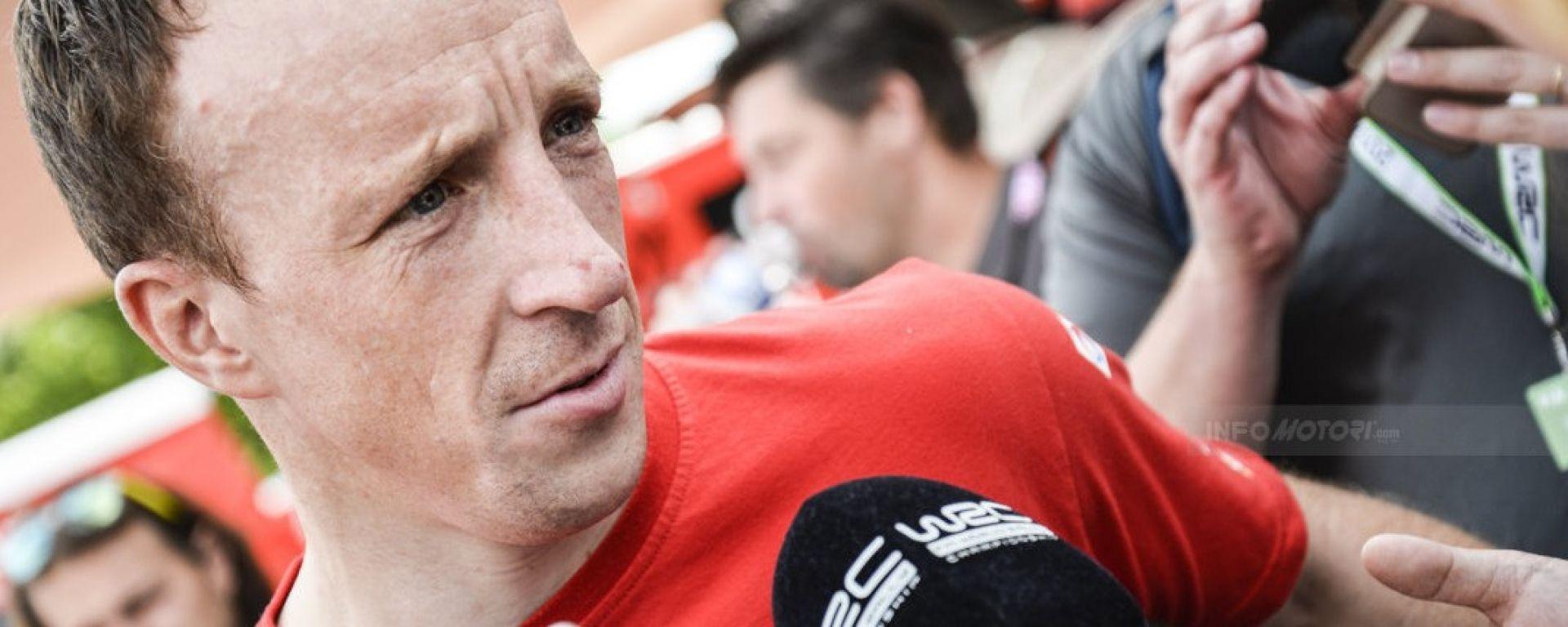Kris Meeke - il pilota di punta del team Citroen WRC 2018