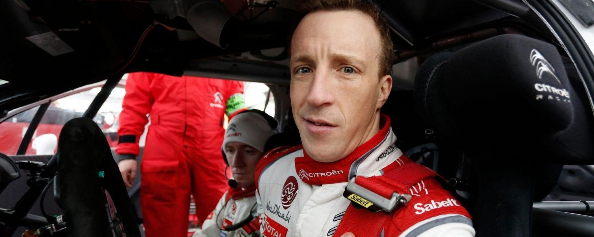 Kris Meeke - il pilota ufficiale e punta di diamante del team Citroen Racing
