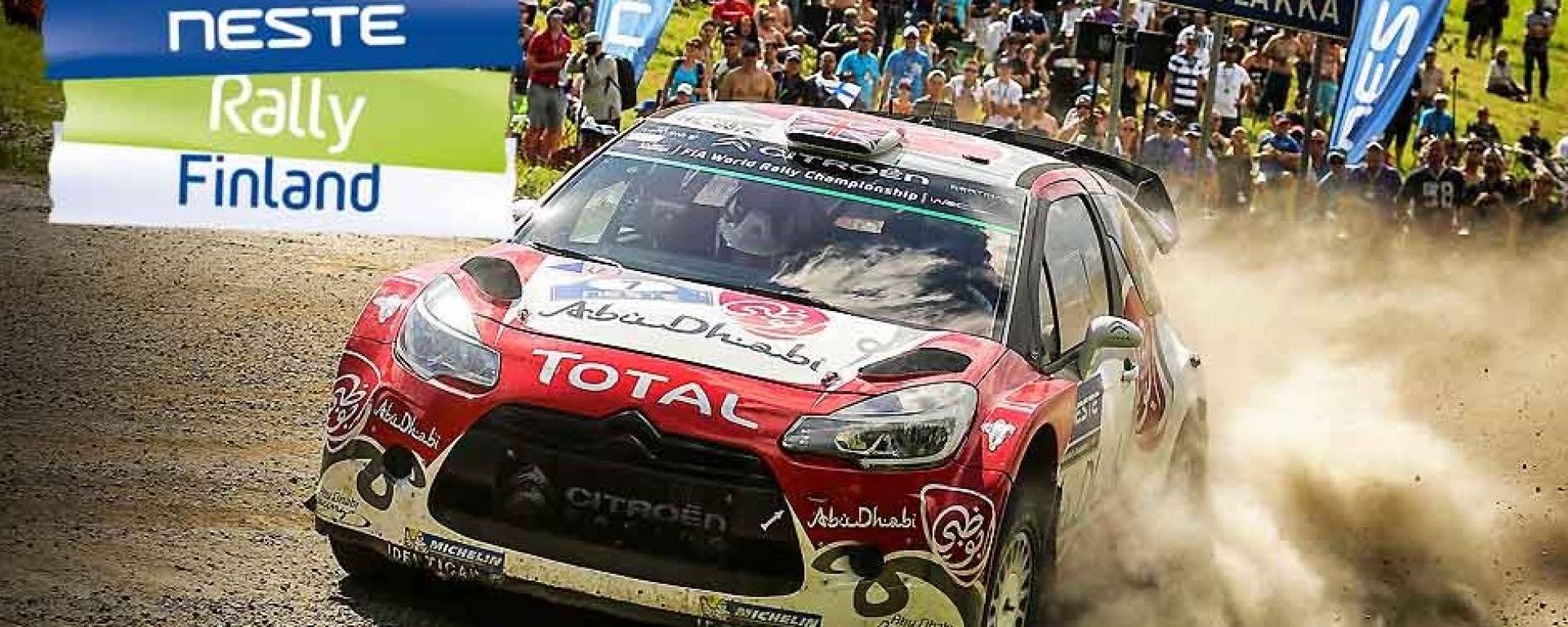 Kris Meeke - Rally Finlandia 2016