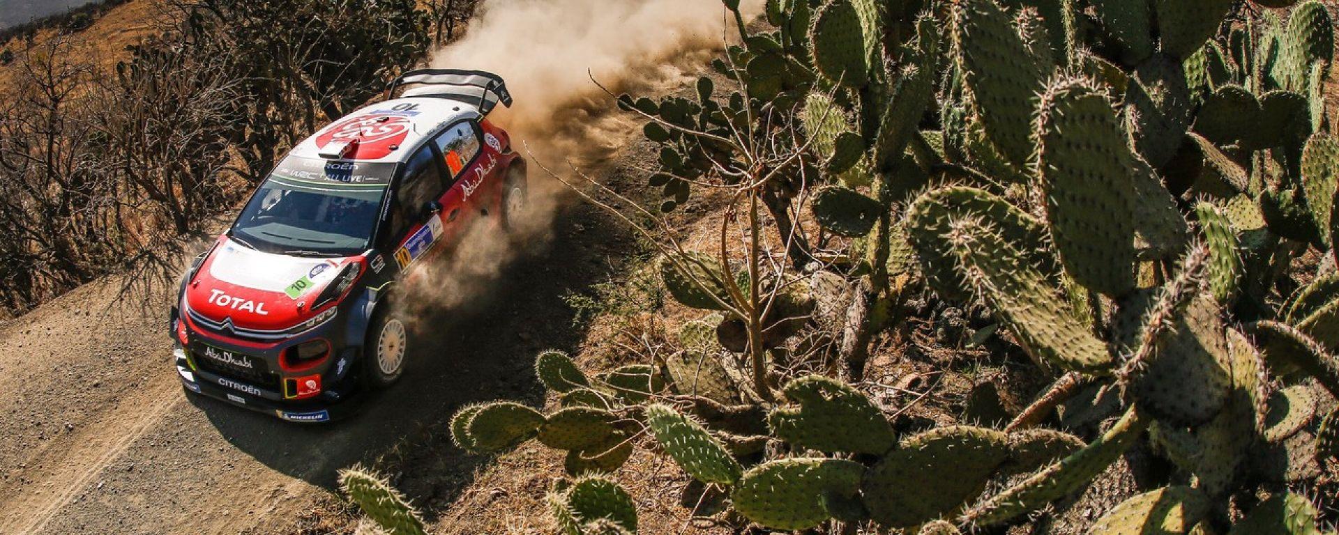 Kris Meeke si aggiudica il primo tempo nello Shakedown del rally del Messico 2018