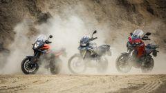 KTM 1090 Adventure, BMW F 850 GS e Ducati Multistrada 950