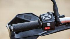 KTM 1090 Adventure: i comandi del blocchetto elettrico sinistro