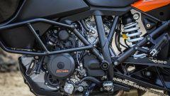 KTM 1090 Adventure: il motore, lato sinistro