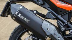 KTM 1090 Adventure: lo scarico Akrapovic