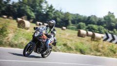 KTM 1090 Adventure: un momento del test