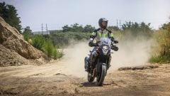 KTM 1090 Adventure: vista frontale