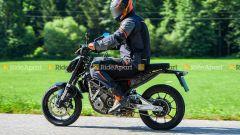 KTM 125 Duke 2022? Nelle foto spia la probabile ottavo di litro del prossimo anno