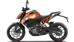 KTM 125 Duke: vista laterale