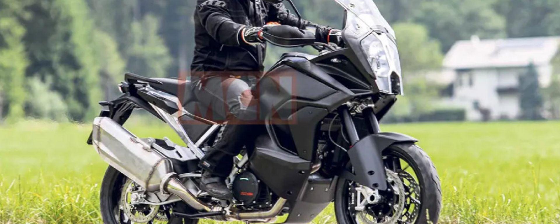 KTM 1290 Adventure 2020: le prime foto spia