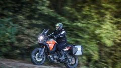 KTM 1290 Super Adventure S: 238 kg in ordine di marcia