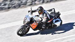 KTM 1290 Super Adventure-S, dall'alto