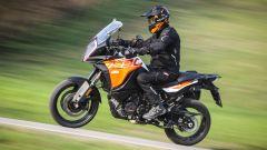 KTM 1290 Super Adventure-S: i 160 cv del bicilindrico si sentono tutti
