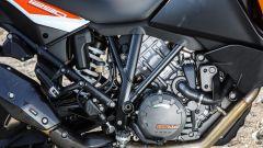 KTM 1290 Super Adventure-S: il bicilindrico a V di 65° esprime 160 cavalli