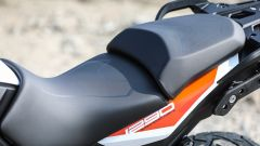 KTM 1290 Super Adventure-S: la sella è ben conformata
