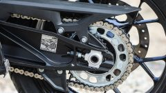 KTM 1290 Super Adventure-S: la trasmissione finale è a catena