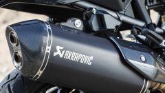 KTM 1290 Super Adventure-S: lo scarico Akrapovic è optional e costa 999 euro
