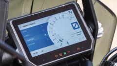 KTM 1290 Super Adventure-S: lo schermo è un TFT a colori da 6,5 pollici con vetro antiriflesso