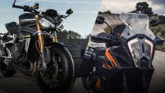 KTM 1290 Super Adventure e Triumph Speed Triple RS: 2021 alla riscossa - Immagine: 1