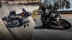 KTM 1290 Super Adventure S VS Triumph Speed Triple, video