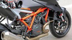 KTM 1290 Super Duke R 2020: cambia il telaietto reggisella
