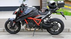 KTM 1290 Super Duke R 2020: eccola durante i test
