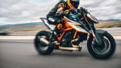 KTM 1290 Super Duke RR 2021: il rapporto peso-potenza è di 1:1