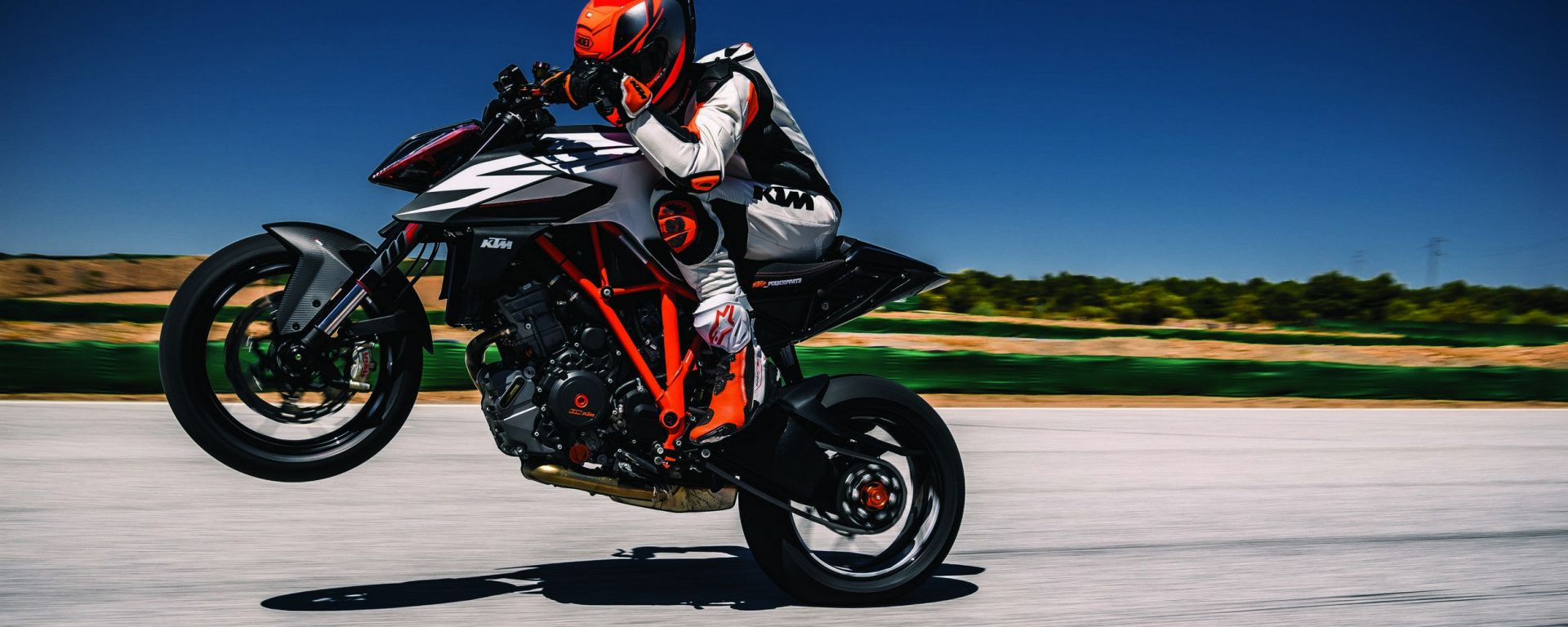 KTM 1290 Super Duke: vista laterale