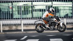KTM 250 Duke: vista laterale