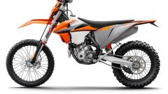 KTM 350 EXC-F 2021: vista laterale sinistra