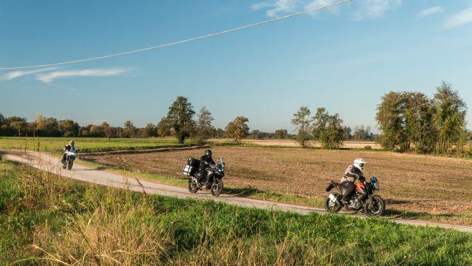KTM 390 Adventure, Benelli TRK 502 X e Honda CB500X Euro5