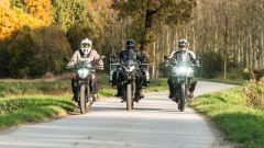 KTM 390 Adventure, Benelli TRK 502 X e Honda CB500X: la sfida tra crossover entry level