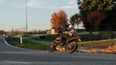 KTM 390 Adventure su strada