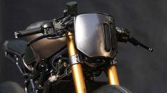 KTM 390 Duke: l'anteriore della moto di Vijay Singh e della Rajputana Customs