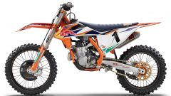 KTM 450 SX-F Factory Edition 2020: visuale laterale