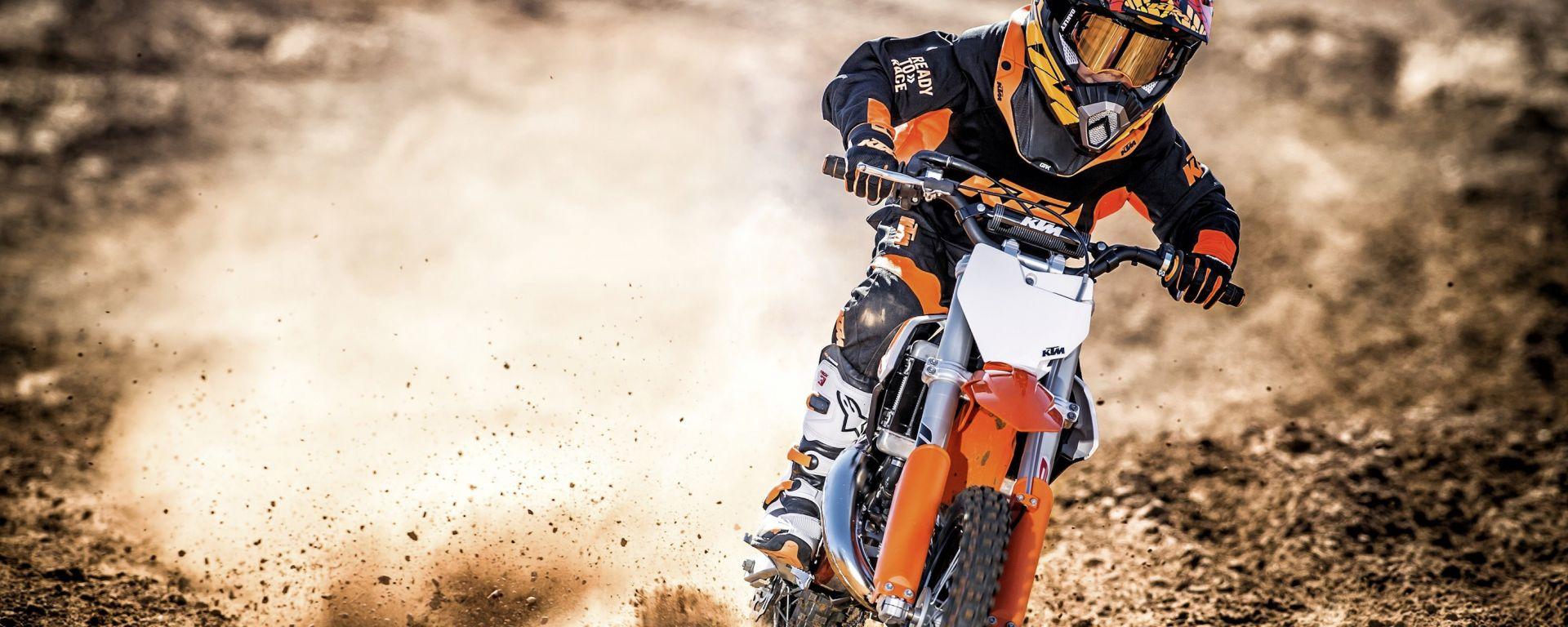 KTM: gamma SX 2017, per fuoristradisti in erba