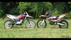 KTM 690 Enduro R vs Husqvarna TE 630 - Immagine: 27