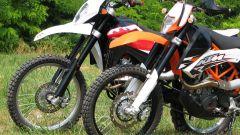 KTM 690 Enduro R vs Husqvarna TE 630 - Immagine: 31